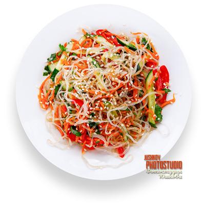 Салат фунчоза рецепт в домашних условиях с мясом 45